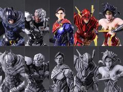 DC Comics Variant Trading Arts Box of 10 Figures