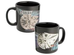Solo: A Star Wars Story Millennium Falcon Heat Change Mug