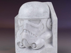 Star Wars Stoneworks Stormtrooper Faux Marble Bookend
