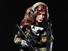 Multicam Female Hunter Special Forces Angela 1/6 Scale Figure