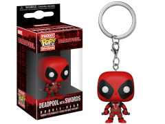 Pocket Pop! Keychain: Deadpool with Swords