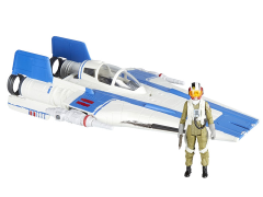 "Star Wars Force Link 2.0 Resistance A-Wing Fighter and Pilot Tallie 3.75"" Deluxe Set (The Last Jedi)"