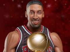 NBA Real Masterpiece Scottie Pippen (Black Jersey) 1/6 Scale Figure