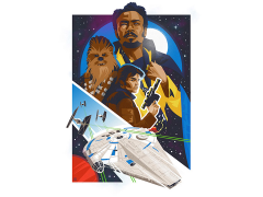 Star Wars In This Life Forever Lithograph