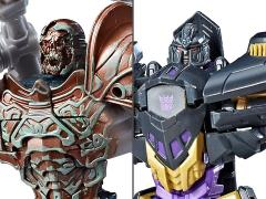 """Transformers: The Last Knight Deluxe Set of 2 Toys""""R""""Us Exclusive"""