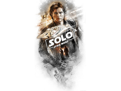 Star Wars Flying Solo Lithograph