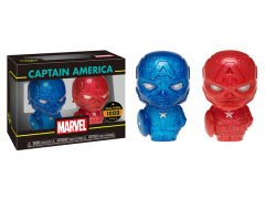Marvel Hikari XS Captain America (Blue & Red)