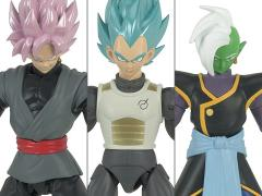 Dragon Ball Super Dragon Stars Wave D Set of 3 Figures with Fusion Zamasu Components
