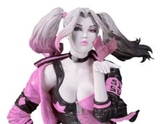 "DC Comics Pink White & Black Harley Quinn (Valentine's Variant) Limited Edition Statue (Stanley ""Artgerm"" Lau)"