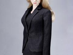 Office Lady Dress Suit (Black) 1/6 Scale Accessory Set