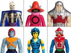 Masters of the Universe ReAction Figures Wave 4 Set of 6