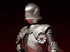 KT Project KT-021 Takeya Shiki Jizai Okimono Kitaro 15th Century Gothic Field Armor (Silver)