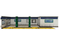 Subway Terminal (2.0) 1/12 Scale Pop-Up Diorama