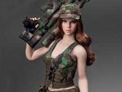 Military Female Character (Green) 1/6 Scale Accessory Set