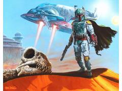 Star Wars Fett Collects SDCC 2018 Exclusive Giclee