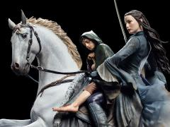 The Lord of the Rings Arwen & Frodo On Asfaloth Statue