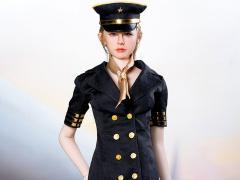 Flight Attendant Dress (Black) 1/6 Scale Accessory Set