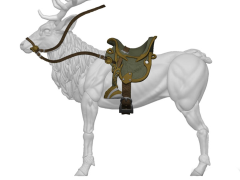 Vitruvian H.A.C.K.S. Creature Accessory Tack Kit Elven