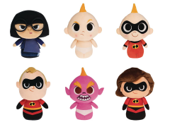 SuperCute Plushies: Incredibles 2 Box of 6
