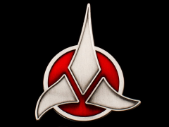 Star Trek Klingon Emblem Badge Replica