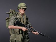 Army 25th Infantry Division Pocket Elite Series Private 1/12 Scale Figure