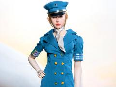 Flight Attendant Dress (Blue) 1/6 Scale Accessory Set