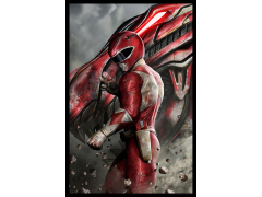 Mighty Morphin Power Rangers Red Ranger SDCC 2018 Exclusive Lithograph