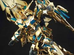 Gundam HGUC 1/144 Unicorn Gundam 03 Phenex Destroy Mode (Narrative Ver.) Gold Coating Model Kit