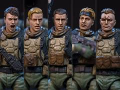 Dark Source Soldier Series Savior Corps 1/24 Scale Figure Set