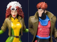 X-Men '92 ArtFX+ Gambit & Rogue Statue Two-Pack