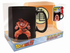 Dragon Ball Z Goku Magic Mug & Coaster Gift Set