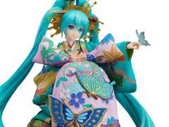 Vocaloid Hatsune Miku (Chokabuki Kuruwa Kotoba Awase Kagami Ver.) 1/7 Scale Figure