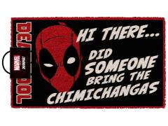 Marvel Deadpool Chimichangas Door Mat