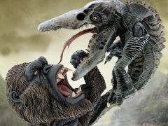 Kong: Skull Island Deform Real Series Kong Vs. Skullcrawler