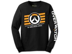 Funko Tees: Overwatch -  Logo (Long Sleeve)