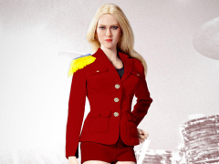 Lady Girls Generation Uniform (Red) 1/6 Scale Accessory Set