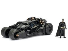 The Dark Knight Metals Die Cast Batmobile Tumbler & Batman