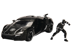 Marvel Metals Die Cast Black Panther & Lykan Hypersport