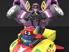 The King of Braves GaoGaiGar Super Mini-Pla Vol.5 Model Kit Three-Pack