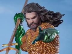 Aquaman Battle Diorama Series Aquaman 1/10 Art Scale Statue