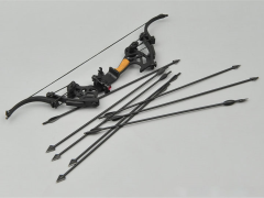 Compound Bow (Black Arrows) 1/6 Scale Accessory Set