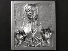 Star Wars Han Solo in Carbonite Mini Wall Plaque