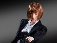 Battle Girl's Uniform (Black) 1/6 Scale Accessory Set