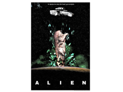 Alien In Space... Limited Edition Giclee
