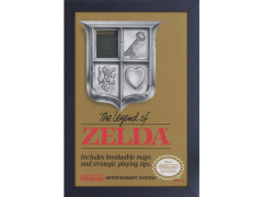 The Legend of Zelda Cover Framed Art Print