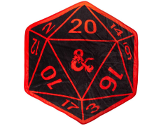 Dungeons & Dragons D20 Throw Blanket
