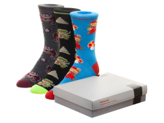Nintendo Classic Console Crew Socks Three-Pack