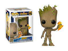 Pop! Marvel: Avengers: Infinity War - Groot (Stormbreaker)