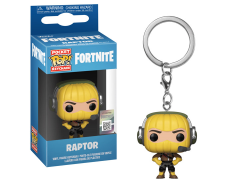 Pocket Pop! Keychain: Fortnite - Raptor