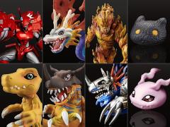 Digimon capsule mascot collection ver 8 Complete 4 set Figure BANDAI From JAPAN